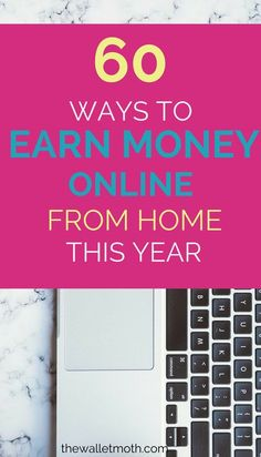 Check out these ways to earn money from home and make extra cash online! These online jobs are side hustles perfect for teens, stay at home moms, or anyone looking to make more money and increase their income from home!