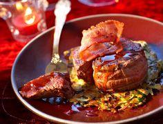 Médaillons de chevreuil, sauce au portoVoir la recette des Médaillons de chevreuil, sauce au porto