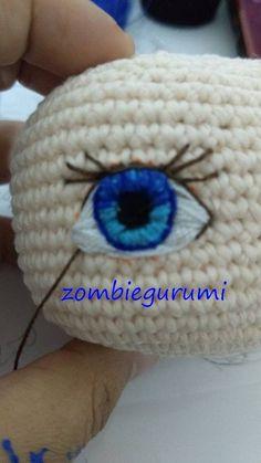 Awesome Amigurumi Crochet and Handicraft Doll for Your Kids! Awesome Amigurumi Crochet and Handicraft Doll for Your Kids! Crochet Bookmark Pattern, Crochet Doll Pattern, Crochet Patterns Amigurumi, Amigurumi Doll, Crochet Design, Amigurumi Free, Knitting Patterns, Crochet Eyes, Crochet Baby