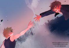 Bakugou and Kirishima // BNHA