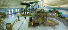 Paul Bunyan indoor waterpark at The Lodge at Brainerd Lakes, Baxter, MN
