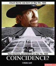 This happens to be my favorite Chuck Norris meme.