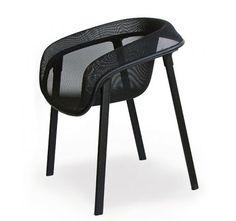Mesh chair - Tom Dixon (Magis) Black