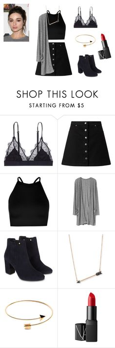 """Allison Argent Outfit"" by zoegeorgiou2001 on Polyvore featuring LoveStories, Miss Selfridge, Boohoo, Monsoon, Sydney Evan and NARS Cosmetics"