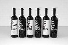 label / The One Series / wine