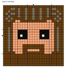 Fiber Art, Crafts, Fun and Family Harry Potter Perler Beads, Harry Potter Crochet, Harry Potter Quilt, Harry Potter Magic, Crochet C2c, Stitch Crochet, Bobble Stitch, Pixel Crochet, Crotchet