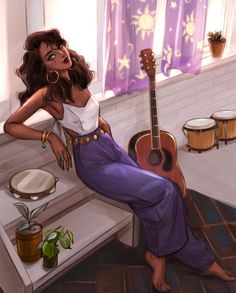 Disney Princess Art, Disney Fan Art, Disney Love, Pretty Art, Cute Art, Character Art, Character Design, Modern Disney, Black Girl Art