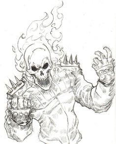 "Ghost Rider by Chris ""Oz"" Fulton"