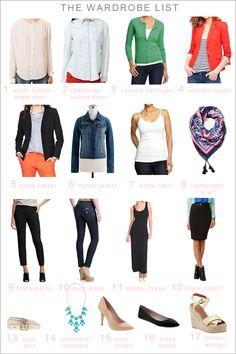 closet-wardrobe-staples     [ button-downs: one indigo denim, one white denim, one white linen, the best you can afford ]