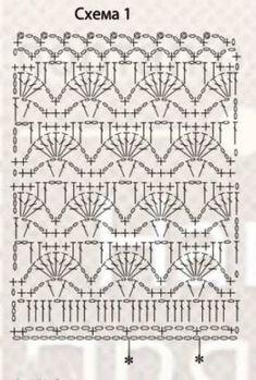Fabulous Crochet a Little Black Crochet Dress Ideas. Georgeous Crochet a Little Black Crochet Dress Ideas. Crochet Blanket Edging, Crochet Skirt Pattern, Crochet Skirts, Crochet Pillow, Crochet Diagram, Crochet Chart, Crochet Motif, Crochet Clothes, Crochet Stitches