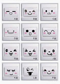 Sample Kawaii Eyes for Amigurumi Amigurumi Tutorial, Amigurumi Patterns, Amigurumi Doll, Crochet Patterns, Crochet Eyes, Crochet Dolls, Crochet Stitches, Knit Crochet, Crochet Patron
