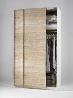 Amazing Welle Mobel Plus Slider Level Sliding Wardrobe Structured Wild Oak