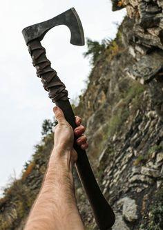 RAGNAR Viking Axe Warrior Berserker Norse Cold by WulflundJewelry