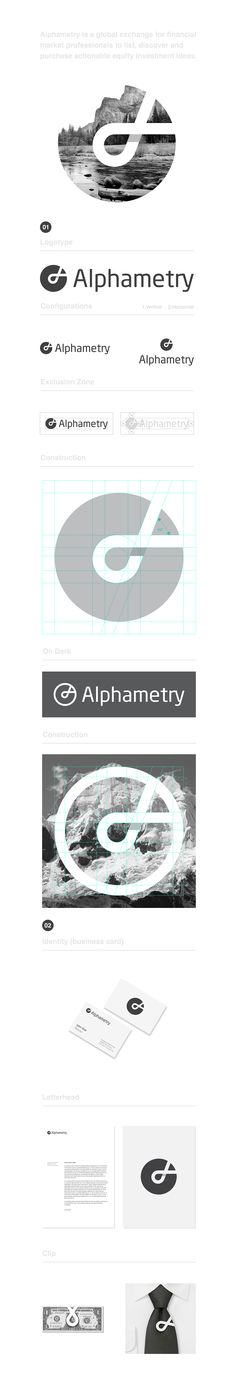 Alphametry Identity Design | Abduzeedo Design Inspiration