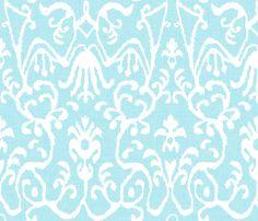 "New 44/"" Cloud 9 Fabrics Turquoise /& Brown Ampersand Pattern 100/% ORGANIC COTTON"