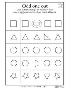 166 Best Pre K Shape Worksheets Crafts Images Preschool Activities