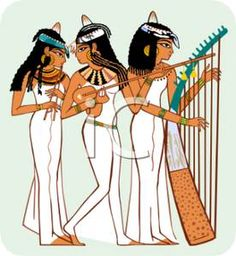 music in ancient egypt - Buscar con Google | música del antiguo ...
