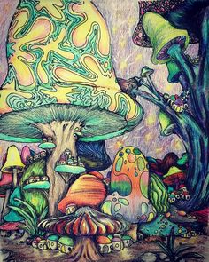 Best trippy art drawing hippie coloring pages ideas, drawings hippie Best trippy art drawing hippie coloring pages ideas, Hippie Painting, Trippy Painting, Mushroom Drawing, Mushroom Art, Trippy Drawings, Art Drawings, Mushroom Wallpaper, Trippy Mushrooms, Psychedelic Art