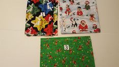 Apron Fabric Christmas Variety