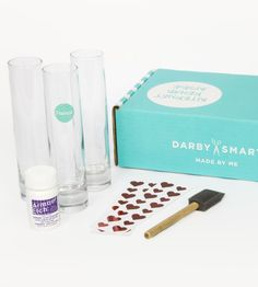 Super clever idea: ready made craft kits from Darby Smart based on top Pinterest DIY projects. And the original creator shares in the profits. So smart.