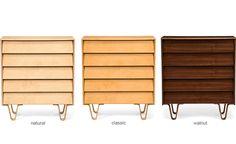 Case Study Bentwood 5 Drawer Dresser by Modernica