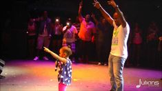 Bunji Performs Differentology w. Daughter Syri @ Six Flags Caribbean Con... Fay Ann and husband Bunji also became parents in 2009 to a daughter, Syri, born on February 28, 2009, just a few weeks after Carnival.