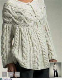 Beautiful, but knitted cardigan! Knitting Designs, Knitting Projects, Knitting Kits, Tricot D'art, Knit Fashion, Crochet Clothes, Pulls, Cable Knit, Cable Sweater