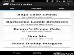 """Boston FoodTrucker  Android App - playslack.com , Boston FoodTrucker allows you to see where all Boston area food trucks are scheduled for the week. You can see which trucks are schedule at the current time, and where they are scheduled as well. You can also see the trucks on a map.Not sure which food truck to go to? Want to try a new one? Simply press the button labeled """"Help me decide!"""" on the map, and we'll choose a food truck at random for you!"""