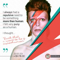"""⚡and you were... you were a superhuman!!! We're going to miss you """"I don't know where I'm going from here, but I promise it won't be boring."""" David Bowie  #DavidBowie #Bowie #BowieForever #RIPDavidBowie #BowieSuperhuman"""