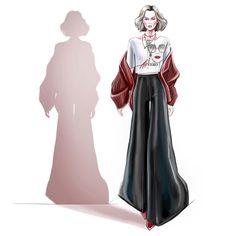 Fashion Flats, Fashion Outfits, Style Fashion, Fashion Design Drawings, Fashion Illustrations, Designs To Draw, Aurora Sleeping Beauty, Disney Princess, Planners