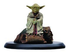 Attakus Star Wars Elite Collection: Yoda Statue, 1:10 Scale. #Starwars #Statue #Figures #Gosstudio #gift