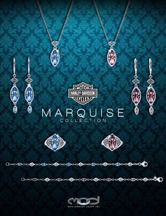 MOD Jewelry - Full Marquise Collection Find them at your local Harley-Davidson Dealership