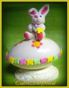 ~ ~ Los Maestros del Azúcar Decoración de Pasteles Y Azúcar Arte Tutoriales: Bunny-licious!