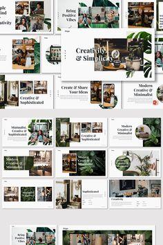 Dsgn Creative PowerPoint Template - Powerpoint Templates - Ideas of Powerpoint Templates - Dsgn Creative Template. Café Design, Buch Design, Design Room, Portfolio Design Layouts, Portfolio Resume, Design Websites, Magazine Design, Mise En Page Portfolio, Powerpoint Design Templates