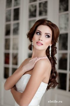 Прическа и макияж Эль Стиль, Свадебные причёски и макияж, Текст