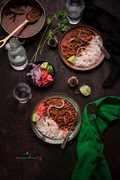 Punjabi Chana Masala (Chickpeas Curry) - Binjal's VEG Kitchen