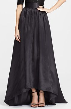 St. John Collection Satin Face Silk Organza Ballgown Skirt available at #Nordstrom