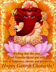Ganesh Chaturthi greetings and image wishes