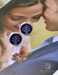 """Μανικετόκουμπα """"Tree of life in color"""" Men Accesories, Color Of Life, Tree Of Life, Boho, Amazing, Wedding, Valentines Day Weddings, Bohemian, Weddings"""
