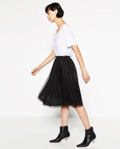 Image 1 of TULLE SKIRT from Zara