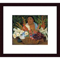 @Overstock.com - Artist: Diego RiveraTitle: Flower SellerProduct type: Framed printhttp://www.overstock.com/Home-Garden/Diego-Rivera-Flower-Seller-Framed-Print/6611132/product.html?CID=214117 $86.99