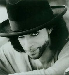 Prince in a hat.  Wonderful photo.