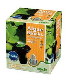 Velda Compresse anti-alghe  dispenser