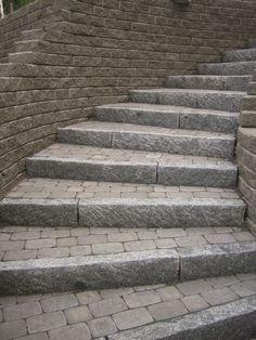 Ideakuvat   Rudus Curved Walls, Sidewalk, Stairs, Home Decor, Patio, Stairway, Decoration Home, Room Decor, Side Walkway