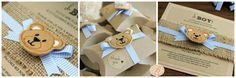 baby shower in a box + teddy bear - Google Search