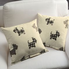 The perfect cushions for dog lovers...