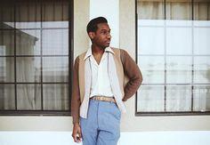 Leon Bridges' vintage style
