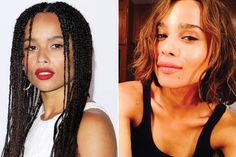 New Hair 2015: See Celebrity Hair Makeovers   InStyle.com Zoe Kravitz: The queen of cool joined the bob trend at the end of May to reprise her role as Christina in the upcoming Divergent sequel, Allegiant.