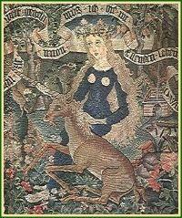unicorn and maiden