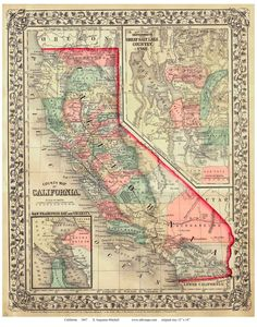 Currently this collection has over 2000 historic usgs topographic 1867 mitchell map of california craft projectscaliforniamapscoupon codes layoutscards fandeluxe Gallery